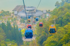 The,Sun,Moon,Lake,Ropeway,Is,A,Scenic,Gondola,Cable