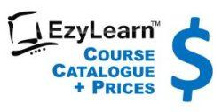EzyLearn Online Course Course Catalogue & Prices for Excel, MYOB, Xero, WordPress, Facebook and Social Media Marketing Courses Logo