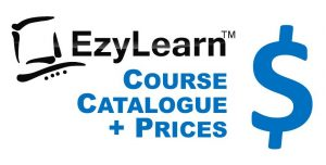 EzyLearn Online Course Course Catalogue & Prices for Excel, MYOB, Xero, WordPress, Facebook and Social Media Marketing Courses Logo