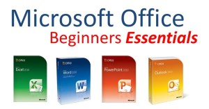 EzyLearn Microsoft Office Word, Excel, PowerPoint, Outlook Beginners Essentials