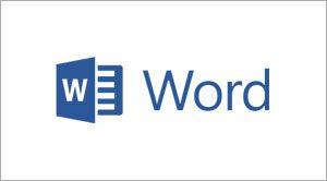 Microsoft Word Beginners, Essentials, intermediate, advanced training courses logo