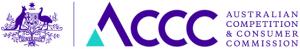 ACCC Australian Federal Government Consumer Affairs logo
