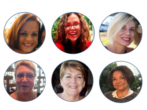 image of faces of students of EzyLearn online learning courses