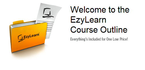 EzyLearn Excel Course Outline image