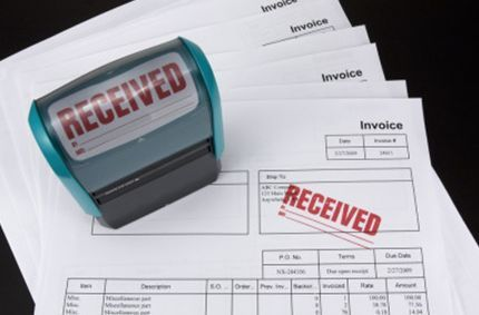 accounting training course accounts receivable and payable stamped document