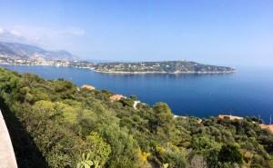 Vue imprenable sur Saint Jean Cap Ferrat à la sortie de Nice