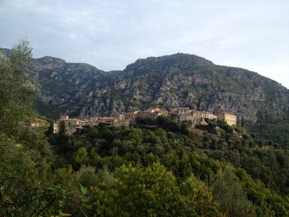 Gorbio, un village perché sur une colline