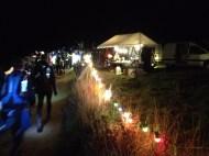 La Saintelyon, 72 kms de nuit, en décembre