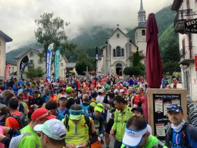 Départ Marathon du Mont Blanc