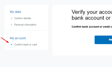 PayPal Verification step 5
