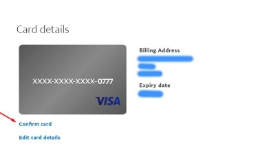 PayPal Verification step 7.2
