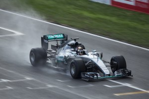 pic-5 / SIXTH TEST WITH MERCEDES AMG PETRONAS F1 TEAM: Pascal Wehrlein tests at Circuit de Barcelona-Catalunya, Spain, THE WIDER TYRES FOR NEXT SEASON