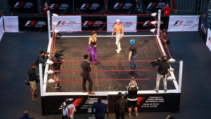 Lucha Libre Wrestling Festival at Formula One World Championship, Rd19, Mexican Grand Prix, Preparations, Circuit Hermanos Rodriguez, Mexico City, Mexico, Thursday 27 October 2016. © Sutton Images