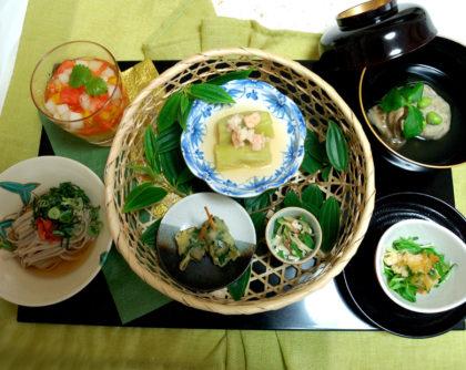 8月の会席料理