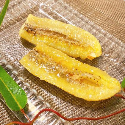 焼きバナナのキャラメリゼ