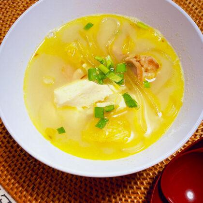 葛切りのカレースープ