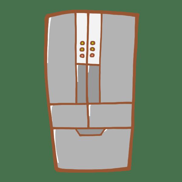 家具レンタル:冷蔵庫