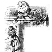 Humpty Dumpty by Tenniel