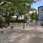 【佐賀町公園】奥に長く、静かで落ち着ける佐賀1丁目の公園