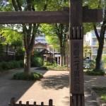 【清澄二丁目公園】江戸時代の雰囲気を思わせる清澄2丁目の公園