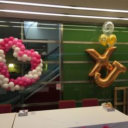 Srdce z balonků