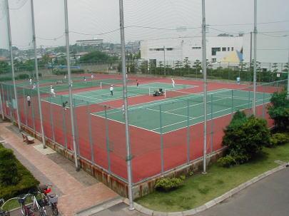 八部公園テニスコート(ハード)