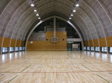 秋葉台文化体育館第2体育室