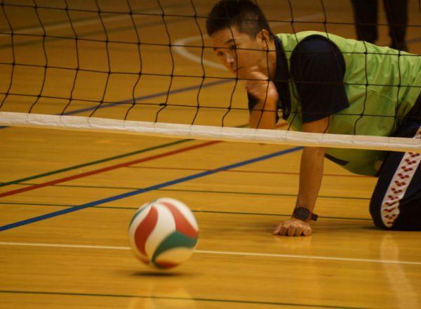 ふれあいスポーツ交流会:ローリングバレーボール