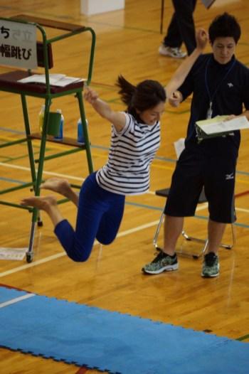 体力測定フェスタ:立ち幅跳び