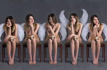 天使・裸です