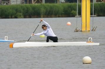 東京2020オリンピック代表選手選考会レースの當銘選手