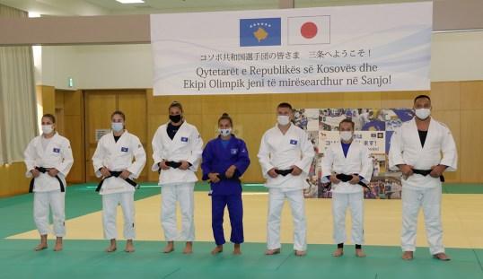 コソボ共和国柔道選手団