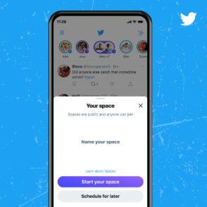 Twitter Spaces : tous les comptes de 600 followers ou plus peuvent créer leur espace audio