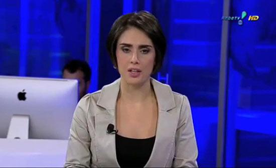 A apresentadora Rita Lisauskas, que foi afastada após cobrar salário da RedeTV!