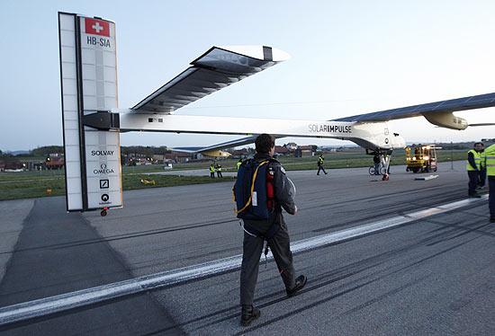 A primeira viagem internacional do protótipo será no trajeto entre Suíça e Bélgica
