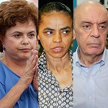 CNT/Sensus indica empate técnico entre Serra e Dilma; Marina  aparece em 3º lugar