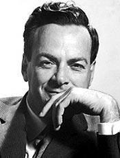 Richard Feynman, ganhador do prêmio Nobel de Física em 1965
