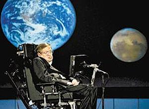 """""""Considero o cérebro como um computador que vai parar de trabalhar quando seus componentes falharem"""", diz Hawking"""