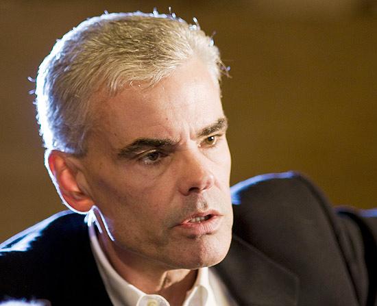 O executivo Greg Frazier, vice-presidente da MPAA, veio ao Brasil para encontros com autoridades