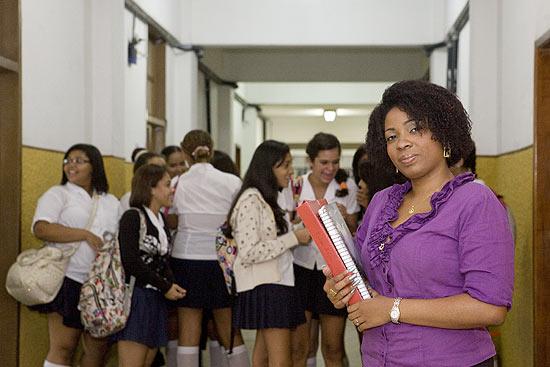 Alessandra Amaral Soares, professora de religião da rede estadual do Rio; movimento quer limitar disciplina