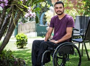 Luis Fernando Sper Cavalli, ex-oficial da PM, que não conseguiu voltar à carreira militar