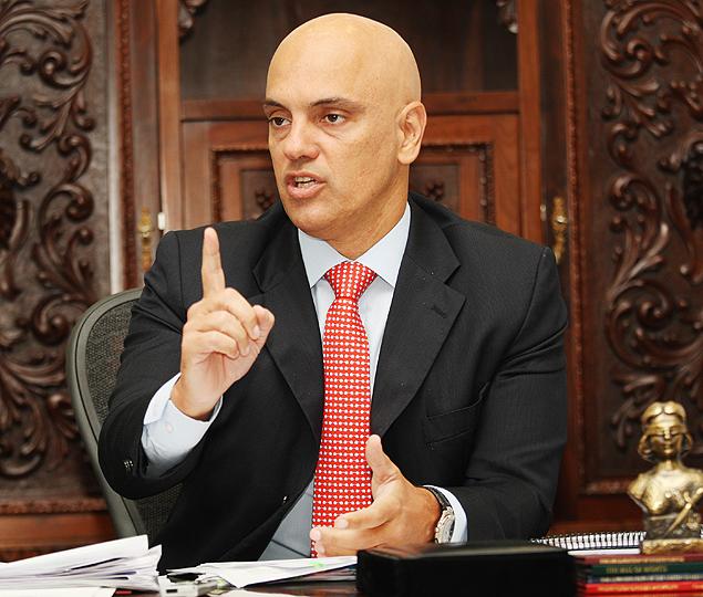 Secretário da Segurança Pública, Alexandre de Moraes, diz que governo paulista não quer agentes federais em estradas no Estado