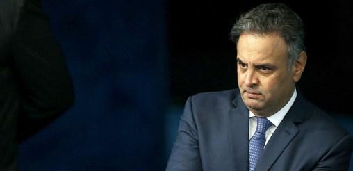 O senador Aecio Neves (PSDB-MG), que foi afastado nesta terça (26)