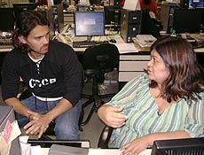 Carmo Dalla Vecchia conversa com jornalista Fabiana Futema, editora de Brasil da Folha Online