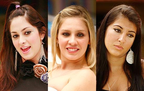 As BBBs Francine, Ana Carolina e Priscila são as apostas do diretor Boninho para a final do reality show