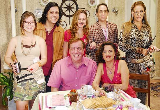 """Elenco de """"A Grande Família"""" na temporada passada; série chega ao décimo ano"""