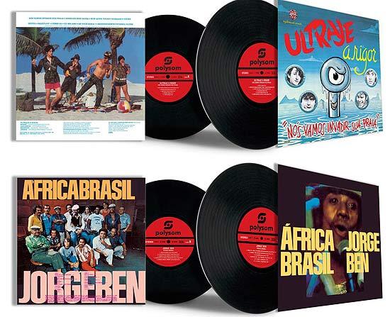 Polysom relança clássicos da música brasileira em vinil