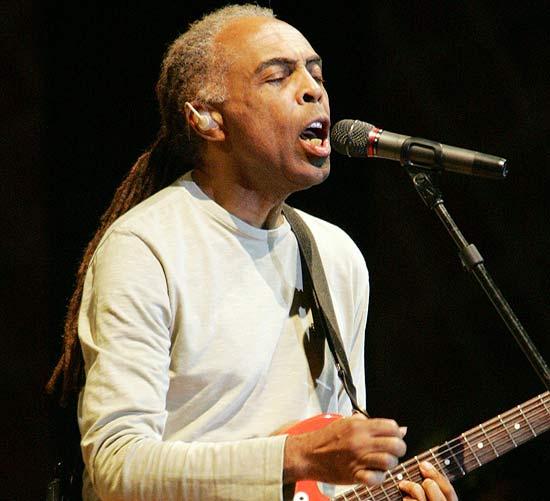 O cantor Gilberto Gil