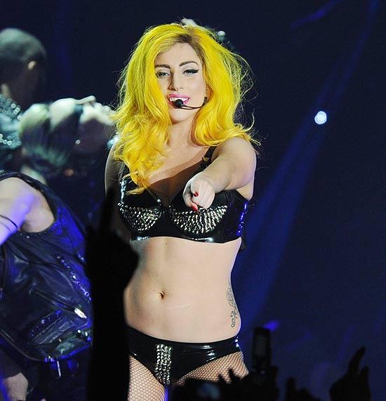 A cantora Lady Gaga