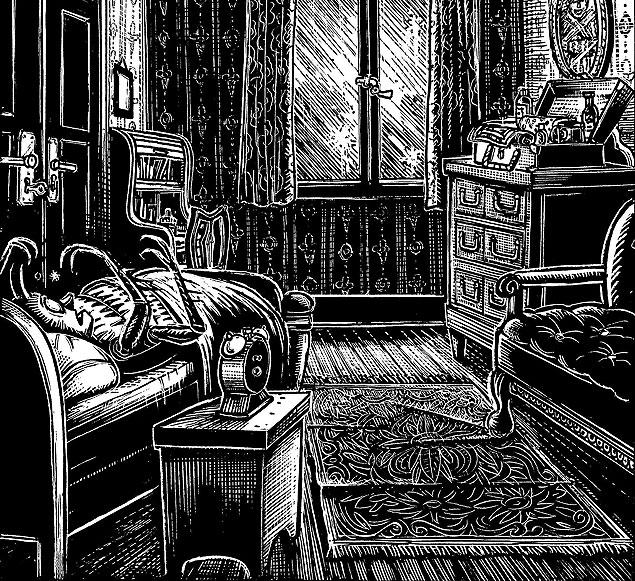 Ilustração de Peter Kuper para